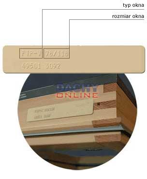 Roleta zaciemniająca fakro 78×140