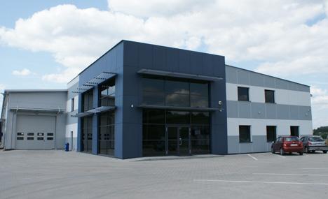 Siedziba główna firmy Nexmar sp. z o.o.